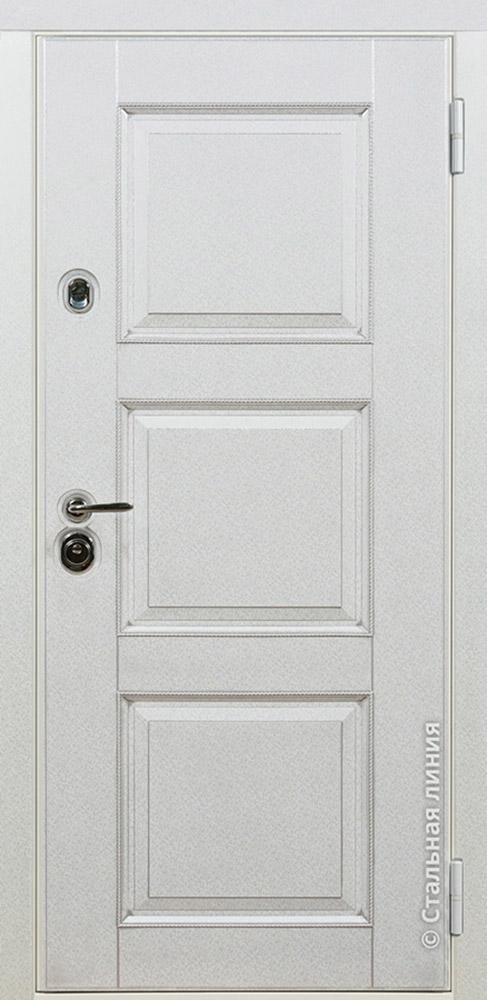 двери металлические белые купить